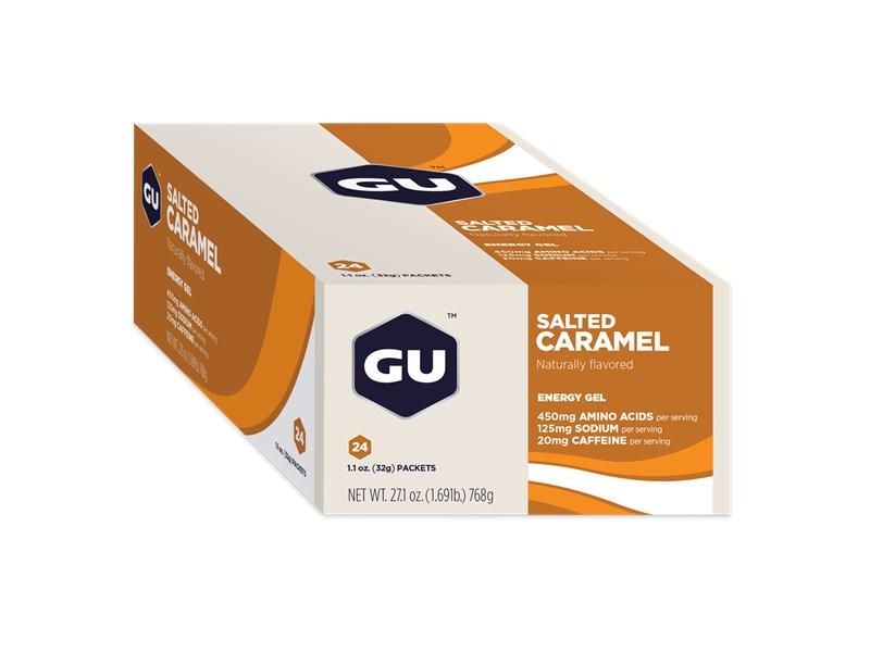 GU Salted Caramel, Gel, 24 Pkt Ctn