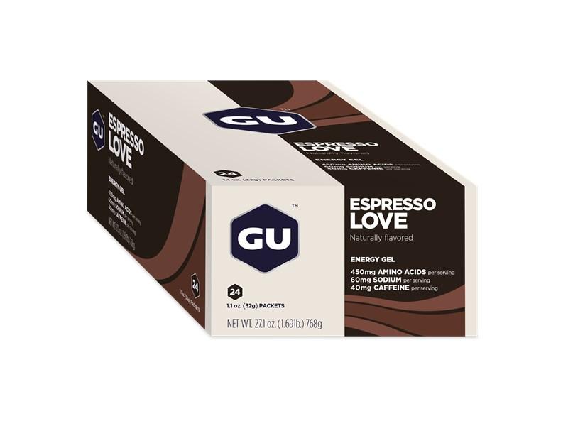GU Espresso Love, Gel, 24st
