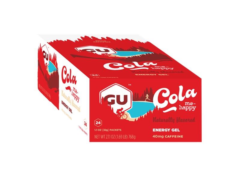 GU Cola Me Happy, Gel, 24 Pkt Ctn