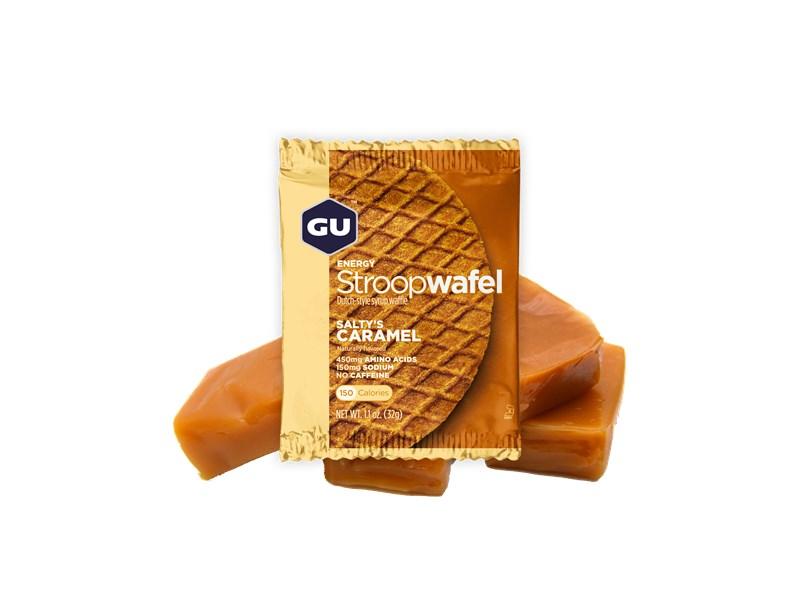 GU Waffle Salty's Caramel