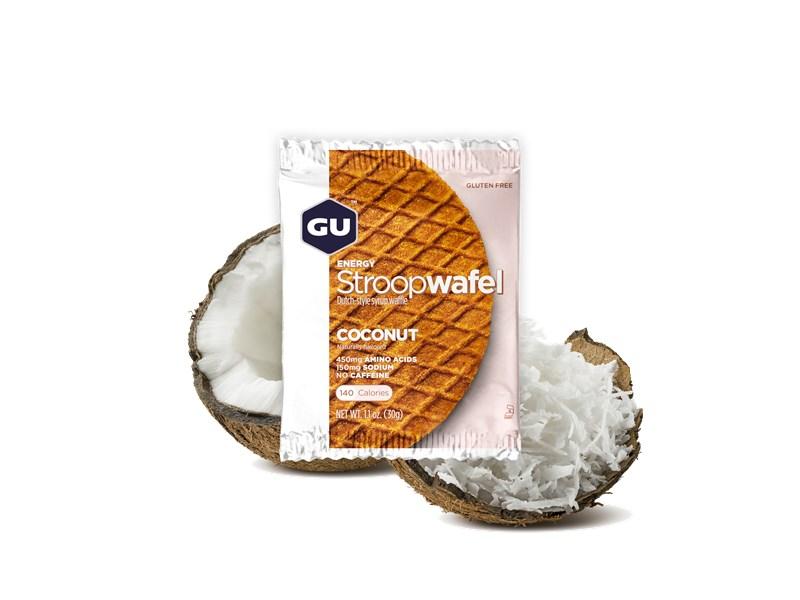 GU Waffle Coconut, (GLUTEN FREE)