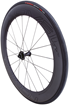 CLX 64 DISC FRONT SATIN CARBON/GLOSS BLK