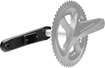 POWER CRANKS ULTEGRA 8000 LEFT UPGRADE