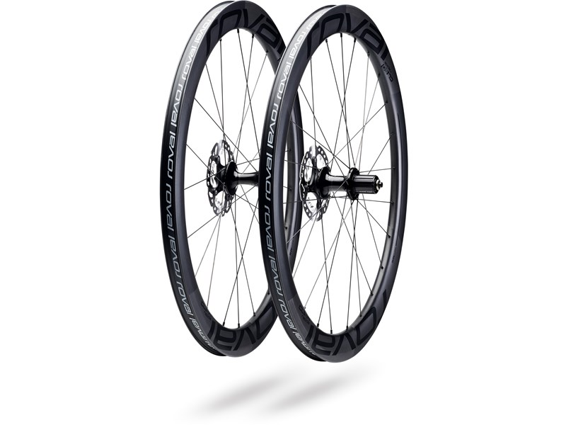 CL 50 DISC WHEELSET SATIN CARBON/BLK