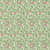 Morris & Co Arbutus Olive/Pink