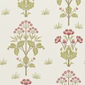 Morris & Co Meadow Sweet Rose/Olive