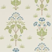 Morris & Co Meadow Sweet Cornflower/Leaf