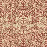 Morris & Co Brer Rabbit Church Red/Biscuit