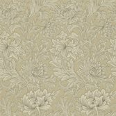 Morris & Co Chrysanthemum Toile Ivory/Gold
