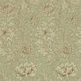 Morris & Co Chrysanthemum Toile Eggshell/Gold