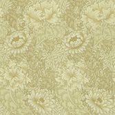 Morris & Co Chrysanthemum Ivory/Canvas