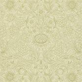 Morris & Co Sunflower Etch Parchment/Gold