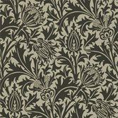 Morris & Co Thistle Black/Linen