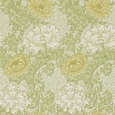 Morris & Co Chrysanthemum Pale Olive
