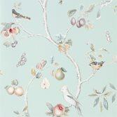 Sanderson Fruit Aviary - Duck Egg/Multi