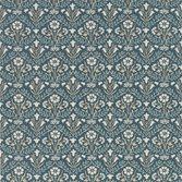 Morris & Co Morris Bellflowers Indigo/Linen