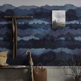 Sandberg Wallpaper Midnatt Dark Blue