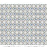 Lim & Handtryck Karoline - Ljusblå/blå