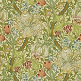 Morris & Co Golden Lily Pale/Biscuit