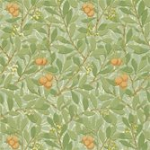 Morris & Co Arbutus Green/Terracotta