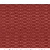 Lim & Handtryck Filipsborg - Röd/Guld