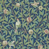 Morris & Co Bird and Pomegranate - Blue/Sage