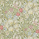 Morris & Co Golden Lily - Green/Red