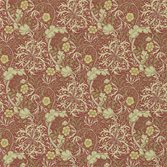 Morris & Co Morris Seaweed - Red/Gold