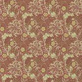 Morris & Co Morris Seaweed Red/Gold