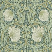 Morris & Co Pimpernel Tapet Privet/Slate