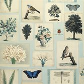 Designers Guild Flora and Fauna - Cloud Blue