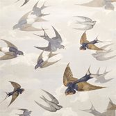 Designers Guild Chimney Swallows - Dawn