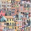 Osborne & Little Portovenere - Terracotta/Coral/Aqua