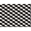 Kirkby Design Zig Zag Birds Monochrome