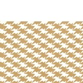 Kirkby Design Zig Zag Birds Gold