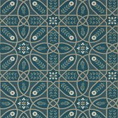 Morris & Co Brophy Trellis - Deep Teal