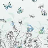 Designers Guild Papillons - Eau De Nil