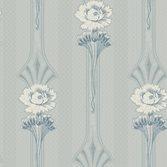 Sandberg Wallpaper Margareta Poweder Blue