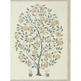 Sanderson Anaar Tree Charcoal/Gold