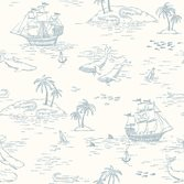 Boråstapeter Newbie Wallpaper Treasure Island