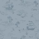 Boråstapeter Newbie Wallpaper Treasure Island