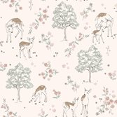 Boråstapeter Newbie Wallpaper Deer Love