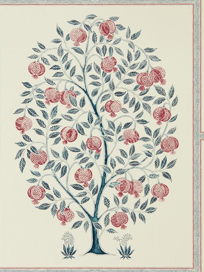 Sanderson Anaar Tree Annato/Blueberry