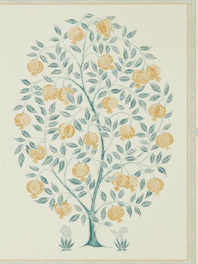 Sanderson Anaar Tree Grey/Woad