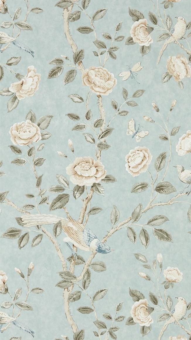 Sanderson Andhara Dove/Cream