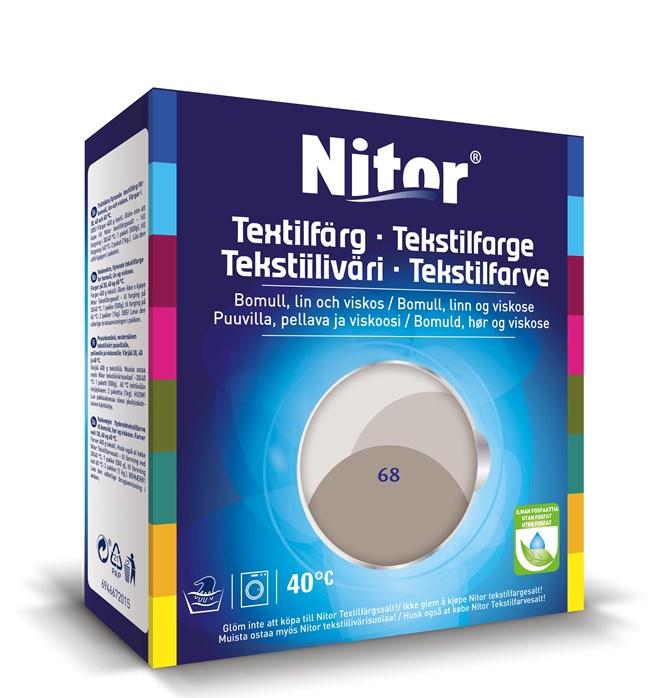 Nitor Textilfärg Mullvad 68