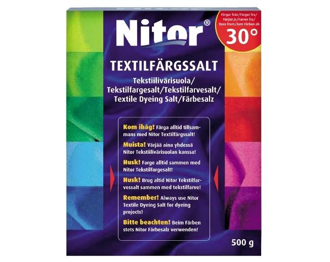 Nitor Textilfärgsalt