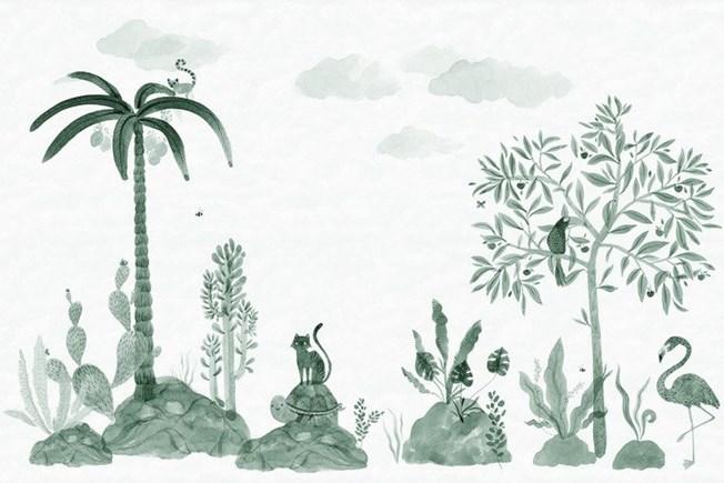 Sandberg Wallpaper Wilton Jade tapet