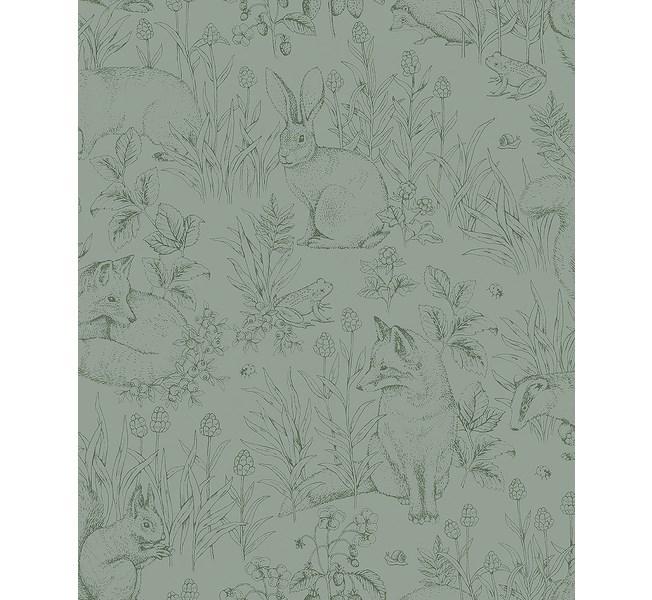 Boråstapeter Newbie Wallpaper Forest Friends