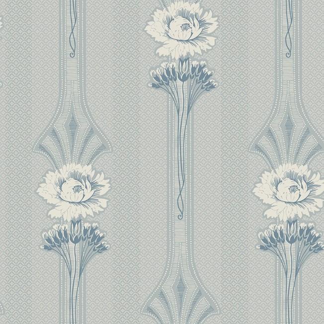 Sandberg Wallpaper Margareta Powder Blue